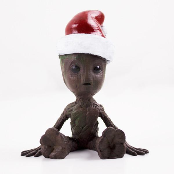 Le fameux Bébé Groot en version Noël.