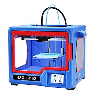 The Qidi Tech X-One 2 is the best 3D printer under $300 in 2018.