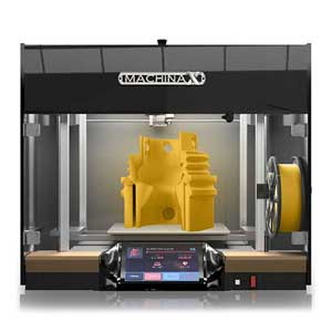 The Machina Corp X30HT is one of the best PEEK 3D printer options on the market.