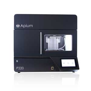 Apium P220 best high-temperature 3D printer (Apium formerly Indmatec)