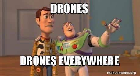 We're launching a new category: drones!