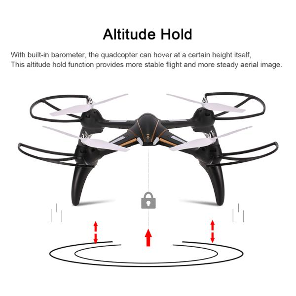 Altitude hold is a popular drone flight mode feature