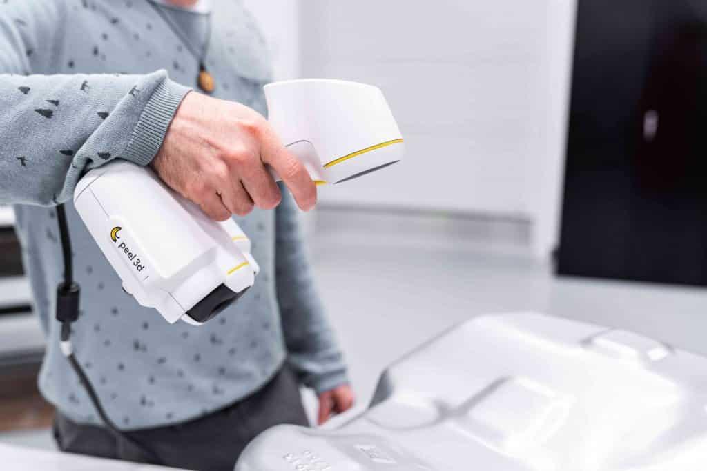 Peel 2 Handheld 3D scanner