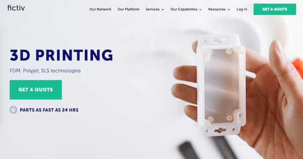 Fictiv digital manufacturing platform