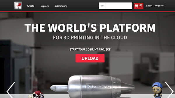 Kraftwurx on-demand 3D print service