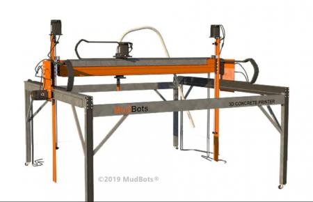 MudBots Concrete 3D Printer MudBots - Construction