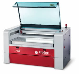 Best professional laser cutter and engraver Trotec laser