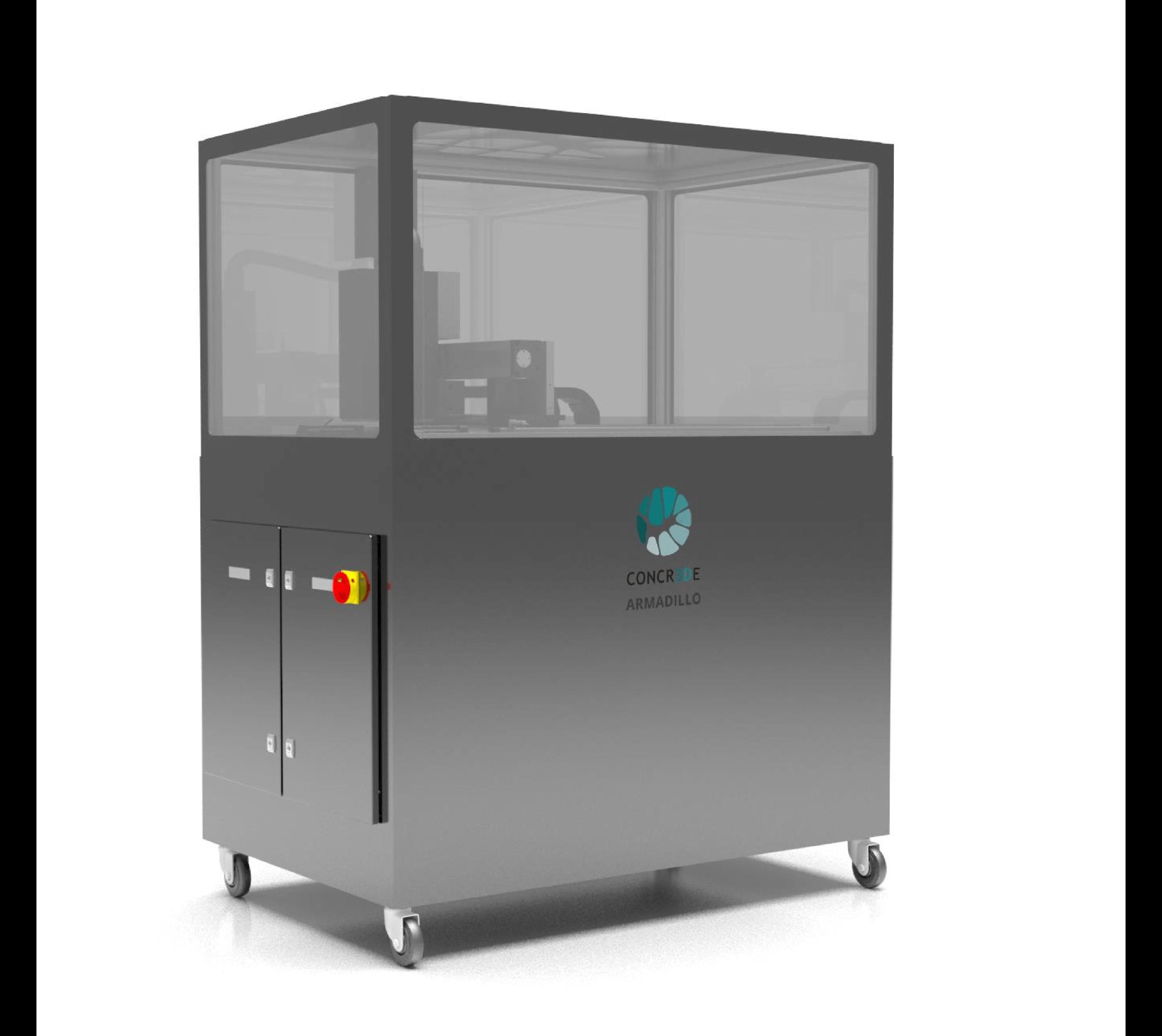 Stone 3D printer CONCR3DE Armadillo