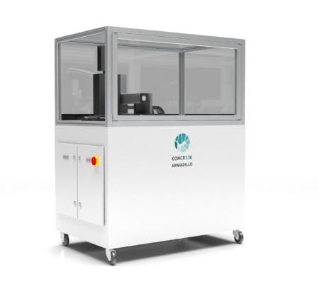 Armadillo White CONCR3DE - Large format
