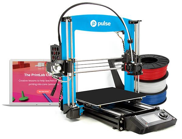 Pulse EDU MatterHackers - 3D printers