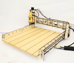 American made CNC router BobsCNC E4 kit