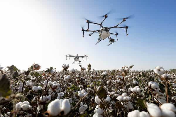 Long-range drone for agriculture and inspection