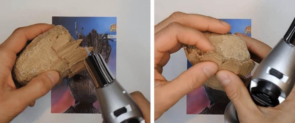 Heating advanced 3D pen technique