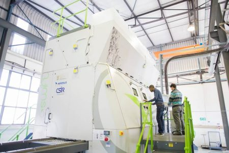 Aeroswift Aerosud/CSIR - 3D printers