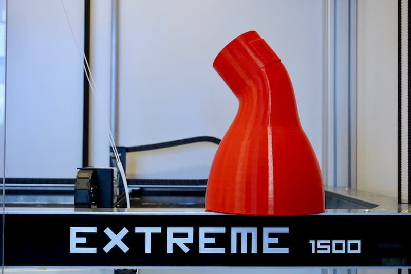 Eventuri impression 3D grand format de prototype
