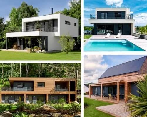 Maisons modulaires en ossature bois construites par Booa