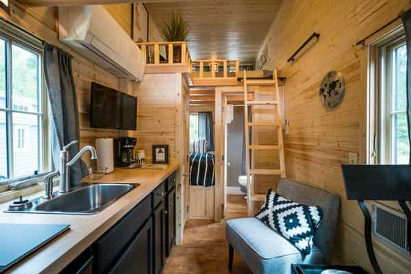 Tiny house maison minuscule