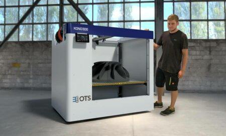 KONG1000 3BOTS 3D Engineering - 3D printers