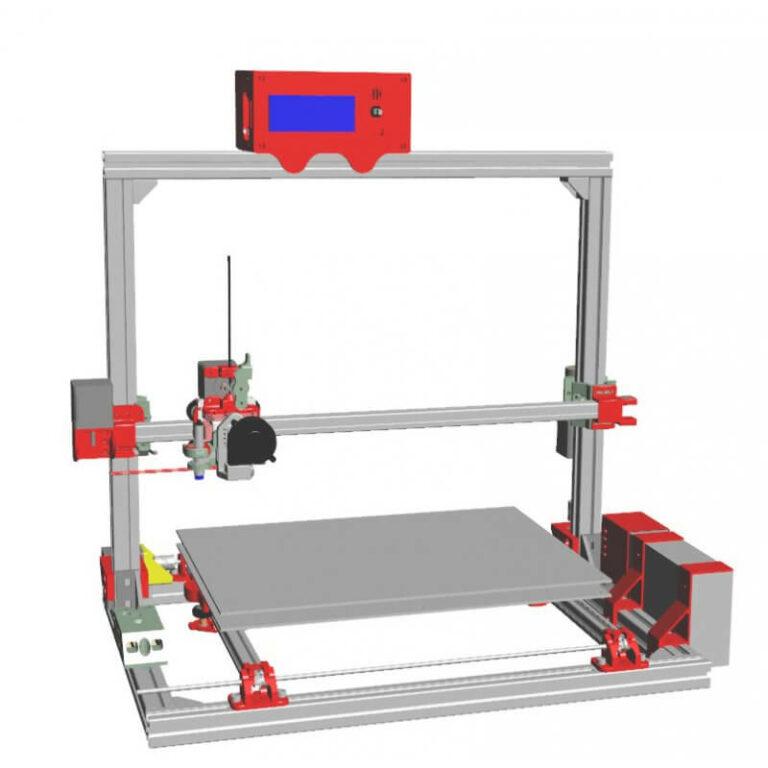 Scalar XL Premium 3D Modular Systems - 3D printers
