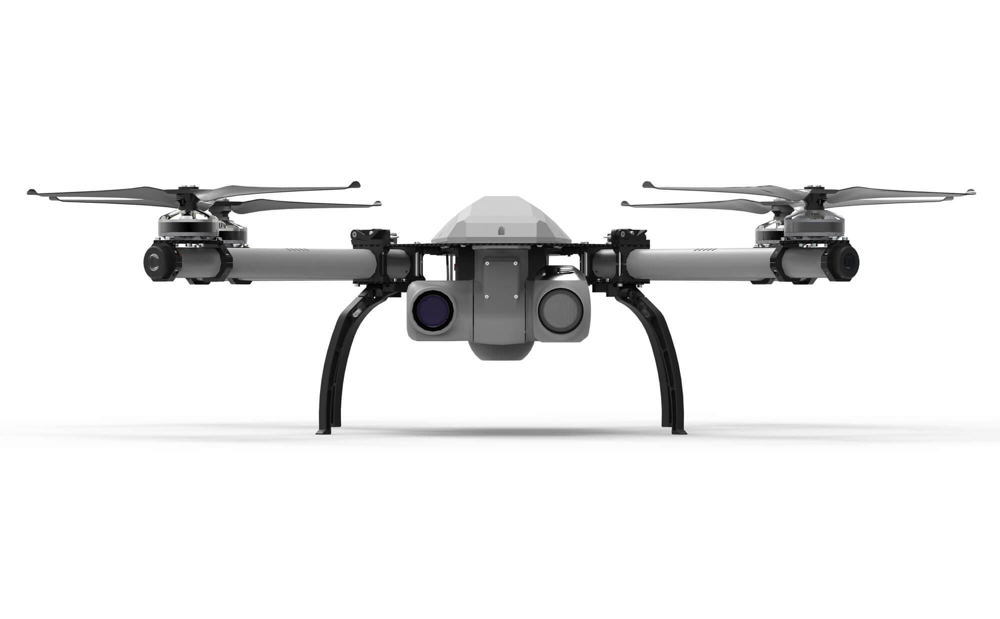 KX-4 INTERCEPTOR Threod Systems - Drones