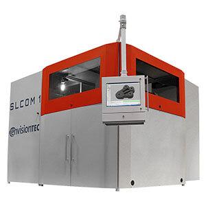 EnvisionTEC SLCOM 1 woven carbon fiber composite 3D printing