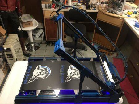 White Knight 3D printer NAK 3D Designs - 3D printers