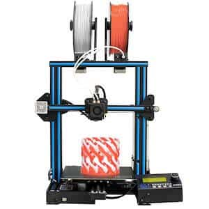 The Geeetech A10M is one of the best cheap 3D printers under $300.