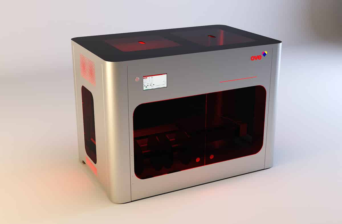 A4 OVE - 3D printers