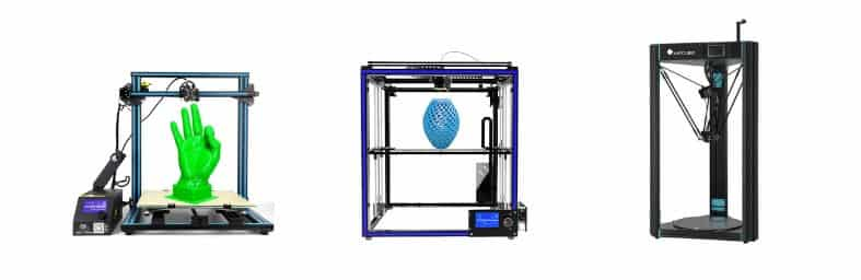 Types d'imprimante 3D printer Cartesian Delta CoreXY