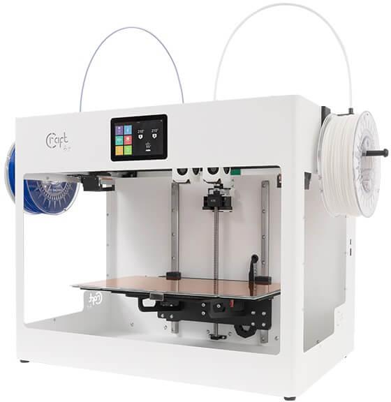 CraftBot Flow IDEX CraftUnique - 3D printers
