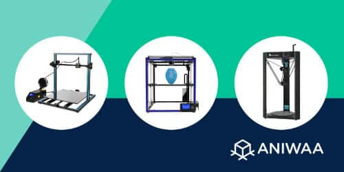 Large 3D printer under $1000: buying guide and selection