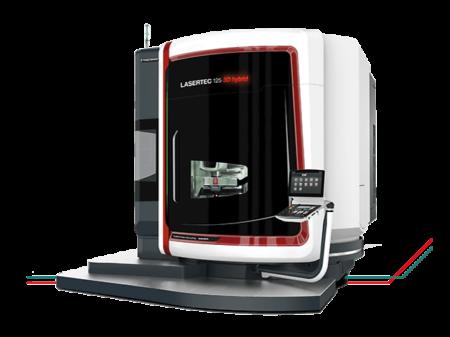 LASERTEC 125 3D hybrid DMG Mori - Hybrid manufacturing, Metal
