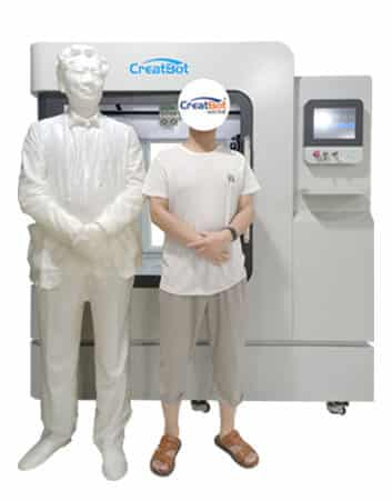 CreatBot life-size print