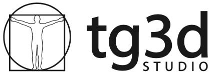 TG3D Studio logo