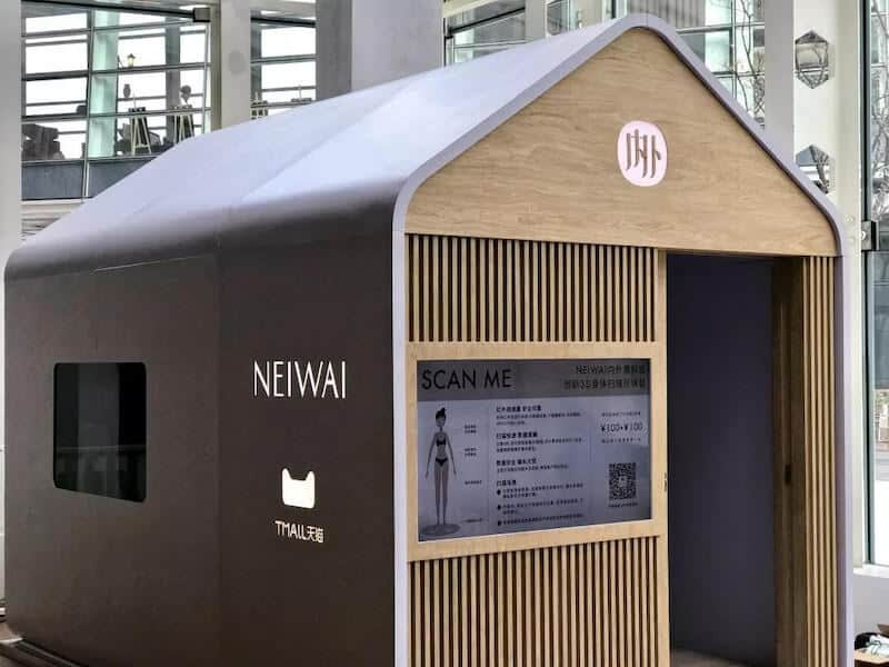 Scanatic used at Neiwai ready-to-wear fashion store.