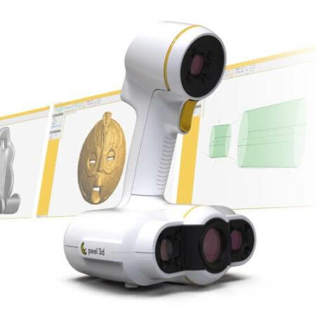 peel 2 CAD peel 3D - Handheld