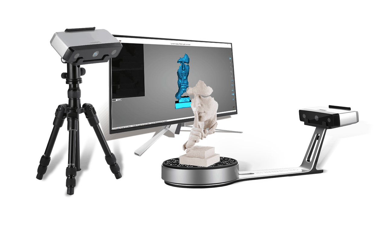 The EinScan-SE and EinScan-SP: the next generation of desktop 3D scanners