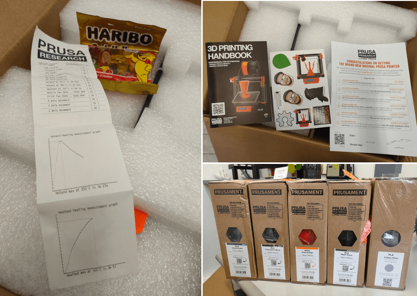 Unboxing PRUSA RESEARCH ORIGINAL PRUSA I3 MK3 REVIEW