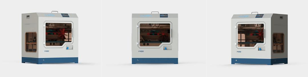 CreatBot F430 powerful desktop 3D printer for professionals