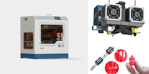CreatBot F430: a powerful desktop 3D printer for engineering-grade materials and PEEK