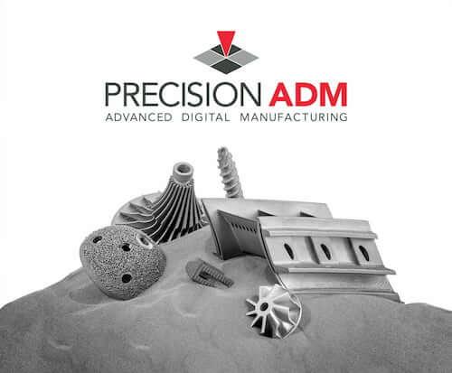 Precision ADM metal 3D printing service