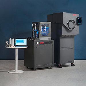 Rapidia Metal 3D printer ceramic