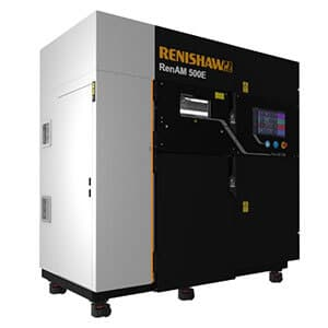 Renishaw RenAM 500E fabrication additive métallique