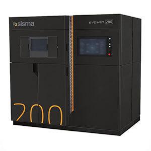 Sisma EVEMET 200 best metal 3D printers