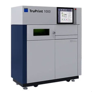 TRUMPF TruPrint 1000 powder bed fusion metal