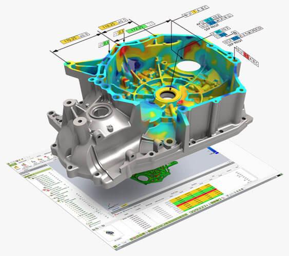 Geomagic Control X logiciel inspection 3D