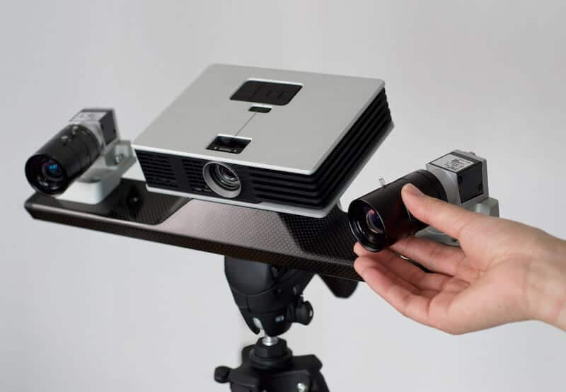 Un scanner 3D fixe de Polyga