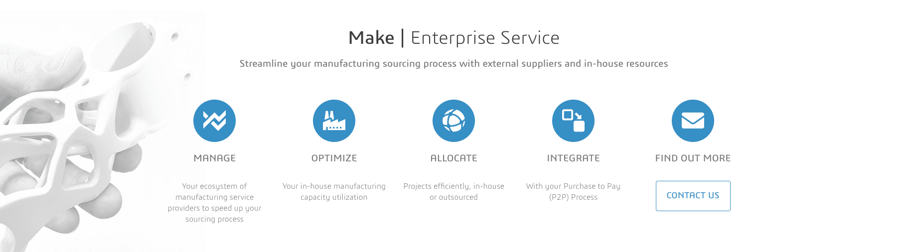 3DEXPERIENCE Make Enterprise Service