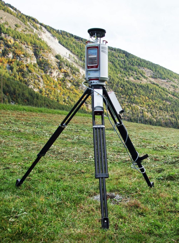Un scanner 3D laser terrestre RIEGL