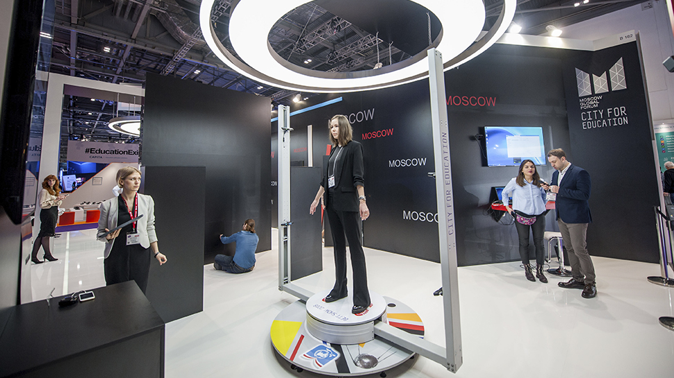 Texel 3D body scanning at an event
